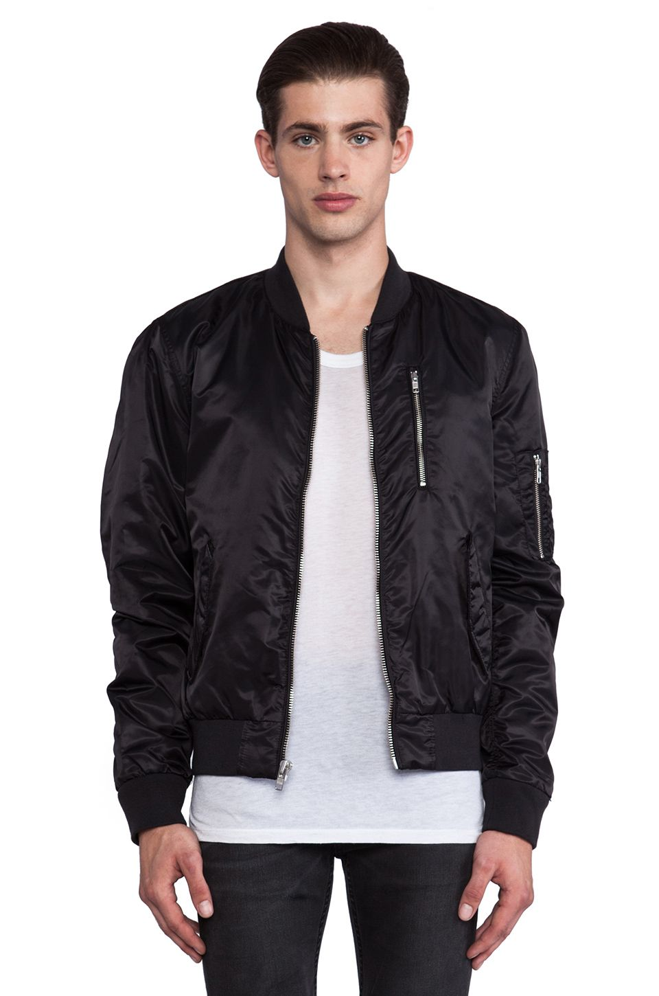 Blk Dnm Jacket 45 In Black From Revolveclothing Com Jackets Men S Leather Jacket Outerwear Jackets [ 1450 x 960 Pixel ]