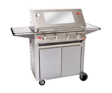 Beefeater Grill 4 Burner Gas Grill With A Designer Cabinet Trolley And A Pizza Oven Option Source Richshomeblog Com Bbq Store Pizza Oven Bbq Accessories