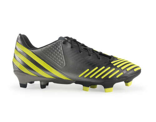 the latest 7b5b3 f76da adidas Men s Predator LZ TRX FG Black Neo Iron Metallic Lab Lime