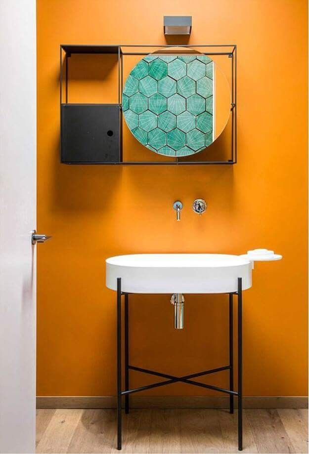 Powder Room By Amy Kartheiser Design: Pin By Amy Dennill On Bathrooms