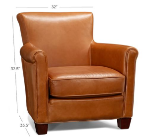 Beau The Perfect Camel Leather Armchair
