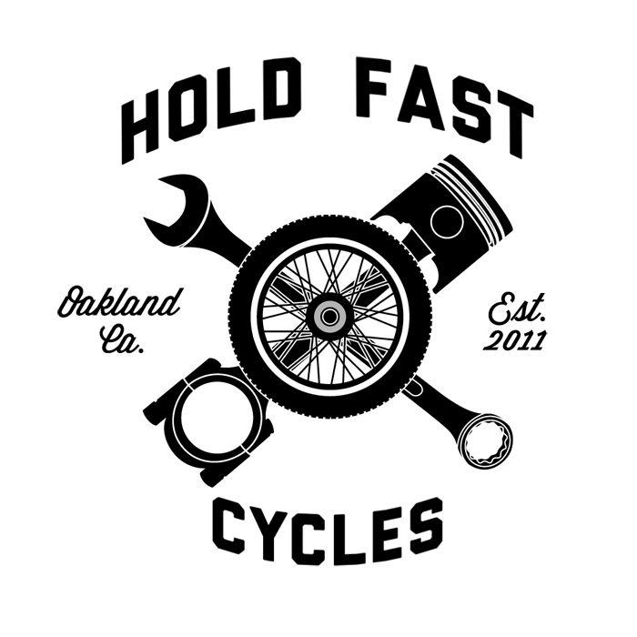 Hold Fast Tattoos N Grafix Motorcycle Shop Motorcycle Logo