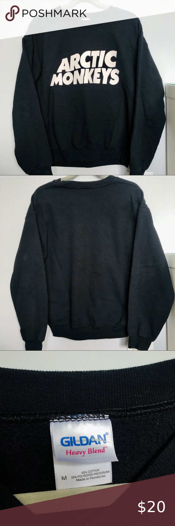 Arctic Monkeys Black Crewneck Sweatshirt Black Crewneck Sweatshirt Crew Neck Sweatshirt Sweatshirts [ 1740 x 580 Pixel ]