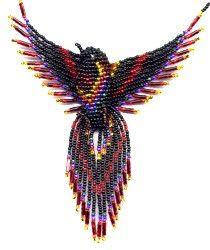Beaded 3d Phoenix Bird Pattern And Kit Bead Kits Beaded