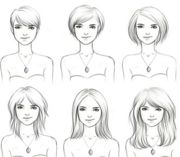 Phases of growing hair out I may need this should I ever