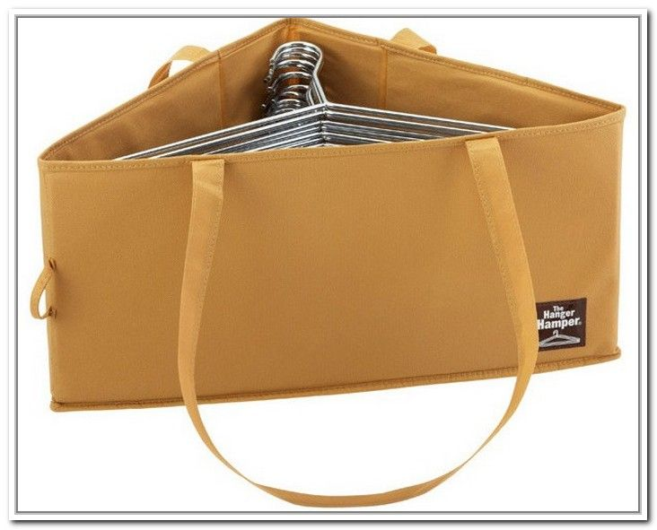 Clothes Hanger Storage Caddy With