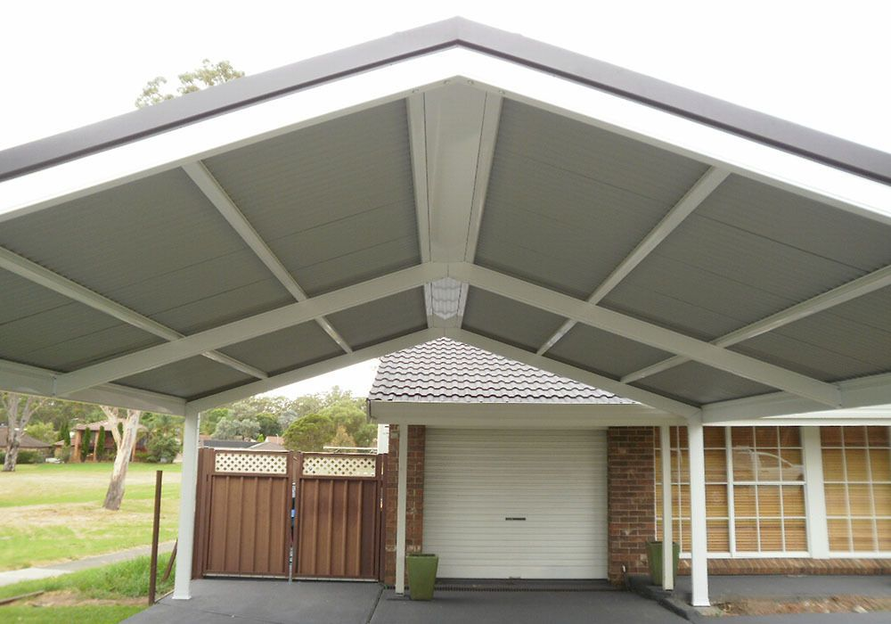 Diy carport kit 6x7m custom sizes, diy pergola patios in