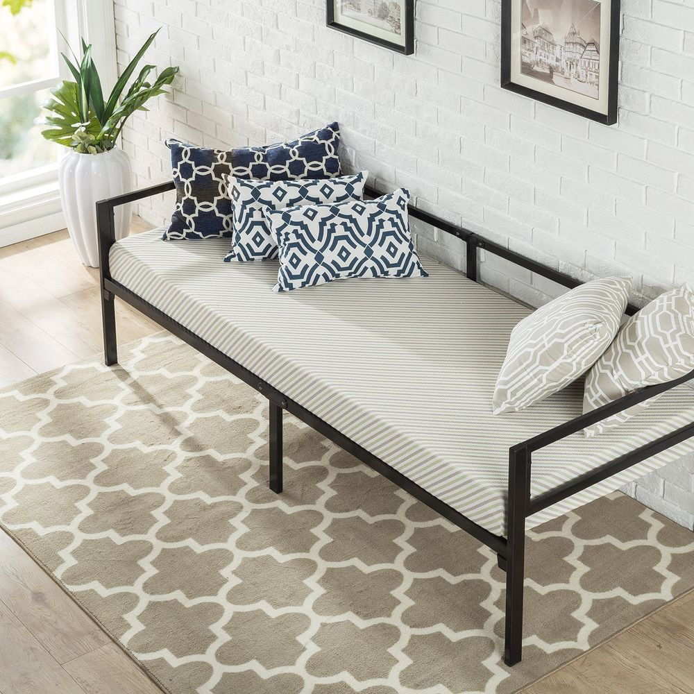 Pin by Alexia on Dorm Room Day bed frame, Mattress sets