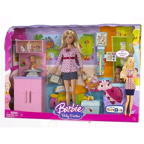 Barbie I Can Be Baby Doctor Baby Barbie Barbie Barbie Playsets