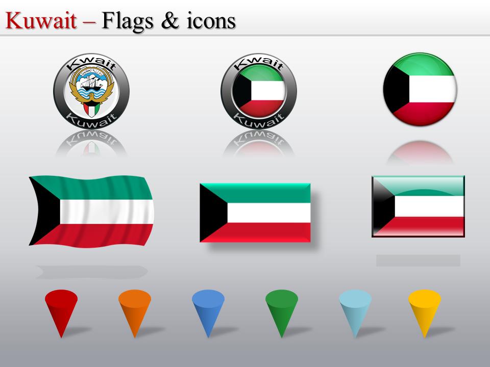 Map of kuwait powerpoint templates pinterest map of kuwait toneelgroepblik Gallery