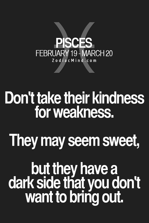 pisces horoscope dark side