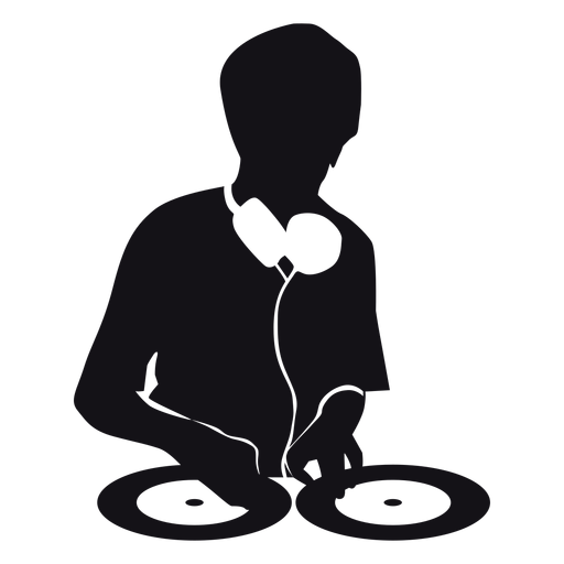 Dj Music Silhouette Ad Paid Affiliate Silhouette Music Dj Music Silhouette Dj Logo Dj Music