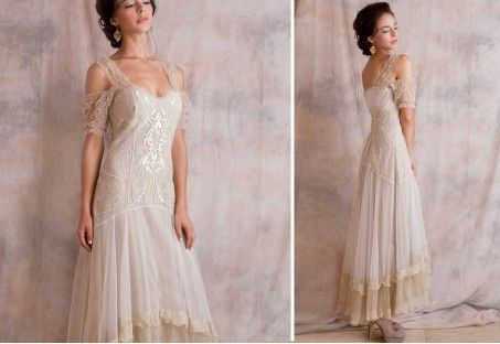 Vintage Casual Wedding Dresses Second Informal Dress Venetian