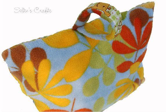 Two Sided Toddler Travel Pillow with carrying handle by SilkesCrafts, $10.00 https://www.etsy.com/listing/106851252/two-sided-toddler-travel-pillow-with