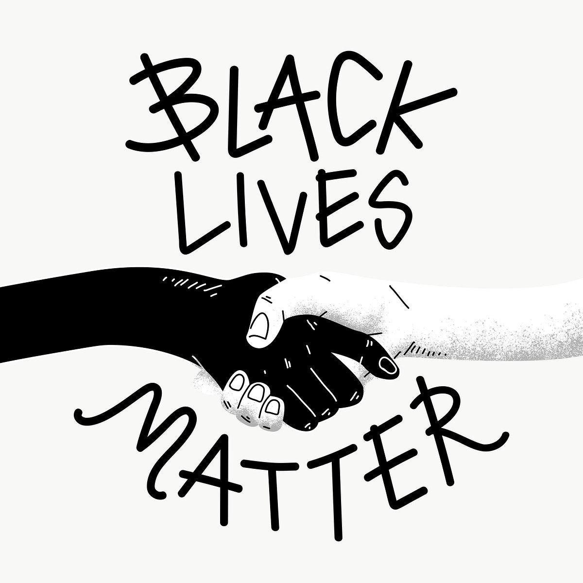 Black Lives Matter Social Template Design Element Free Image By Rawpixel Com Techi Black Lives Social Templates Black Lives Matter