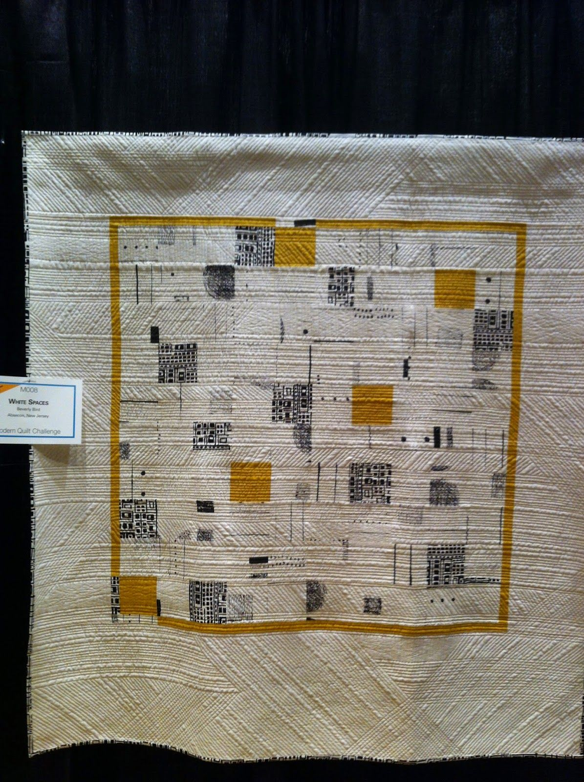 Lancaster Quilt Show - White Spaces by Beverly Bird. Fantastic ... : lancaster quilt show - Adamdwight.com