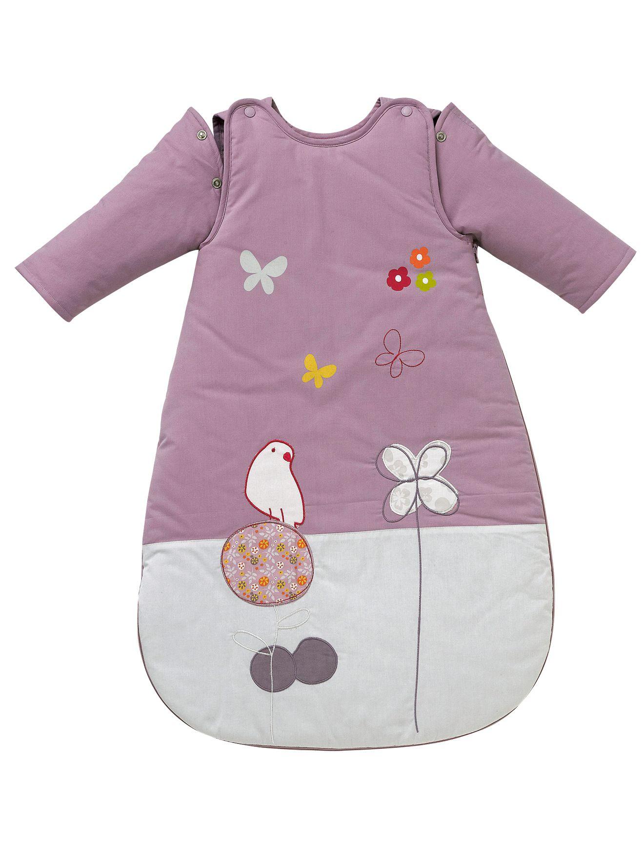 NESTING Sleep Bag With Detachable Sleeves Nursery