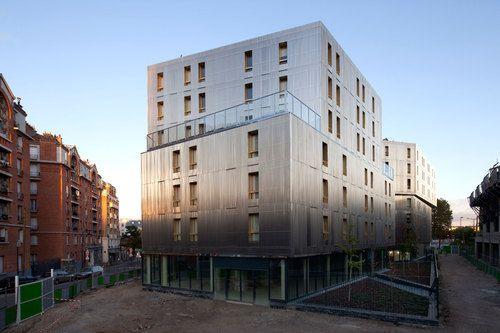 Christian Hauvette, BE Hauvette, DATA architectes — The Irene Joliot Curie Residence