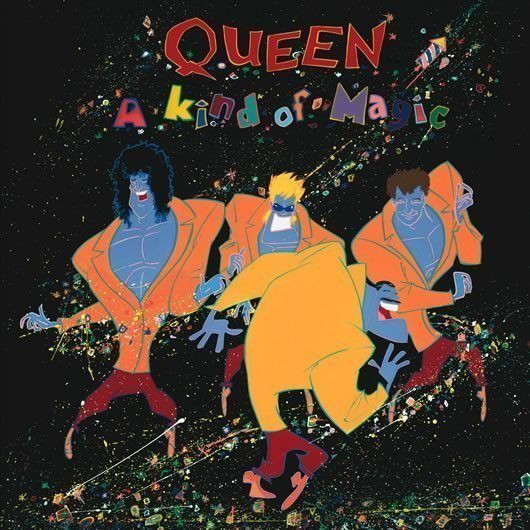 Queen A Kind Of Magic Behind The Albums Udiscovermusic Queen Albums Album Cover Art A Kind Of Magic