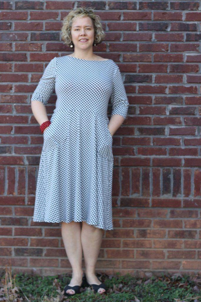 Asta Jersey Dress sewing pattern | Pinterest | Sewing patterns ...