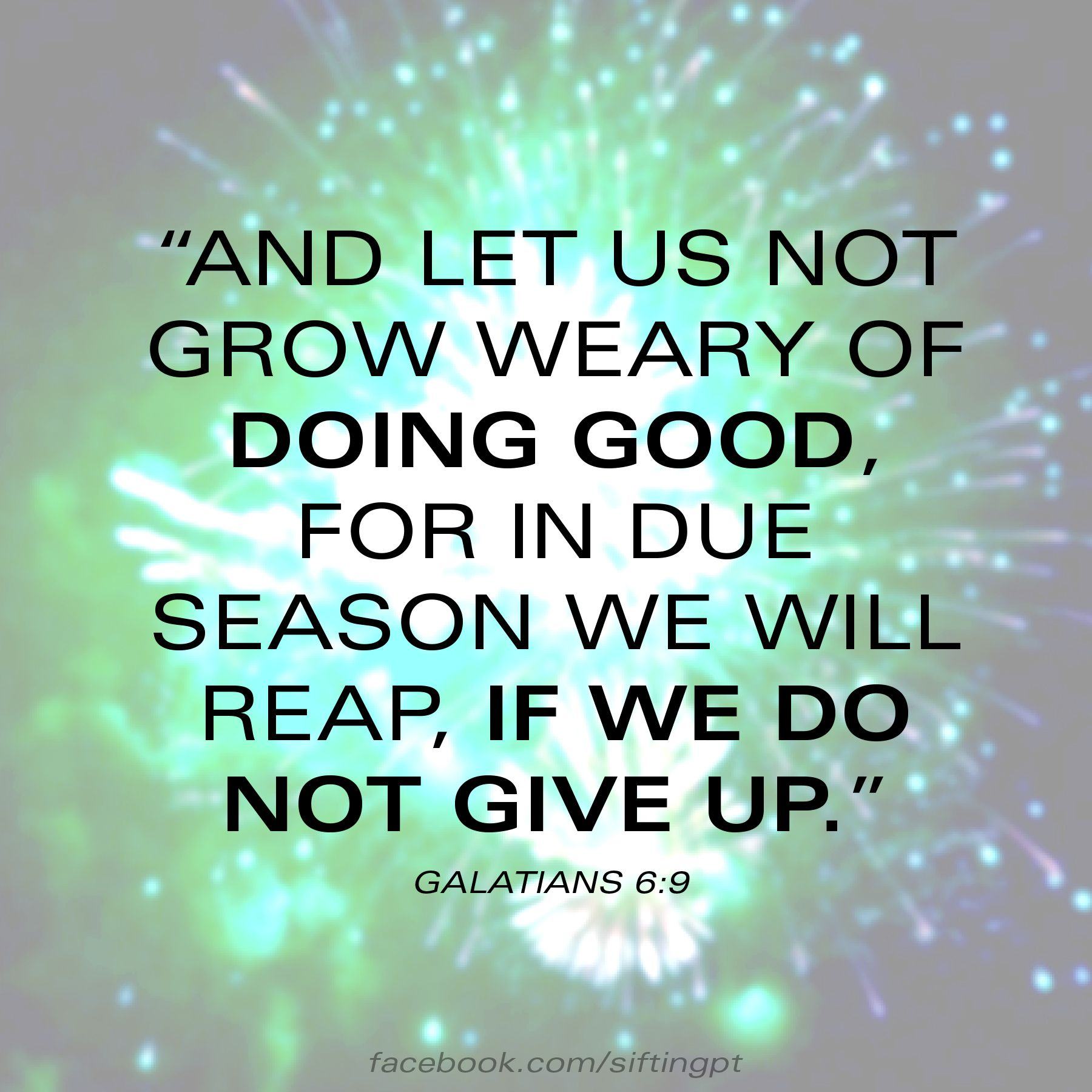 galations 6 9 don 39 t give up scriptures pinterest