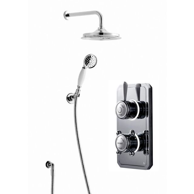 Bathroom Brands Classic 1910 Digital Shower with Wall ...