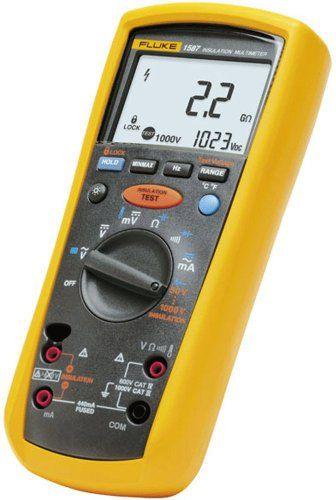 Fluke 1587 Insulation Multimeter Multimeter Insulation Electrical Testing Tools