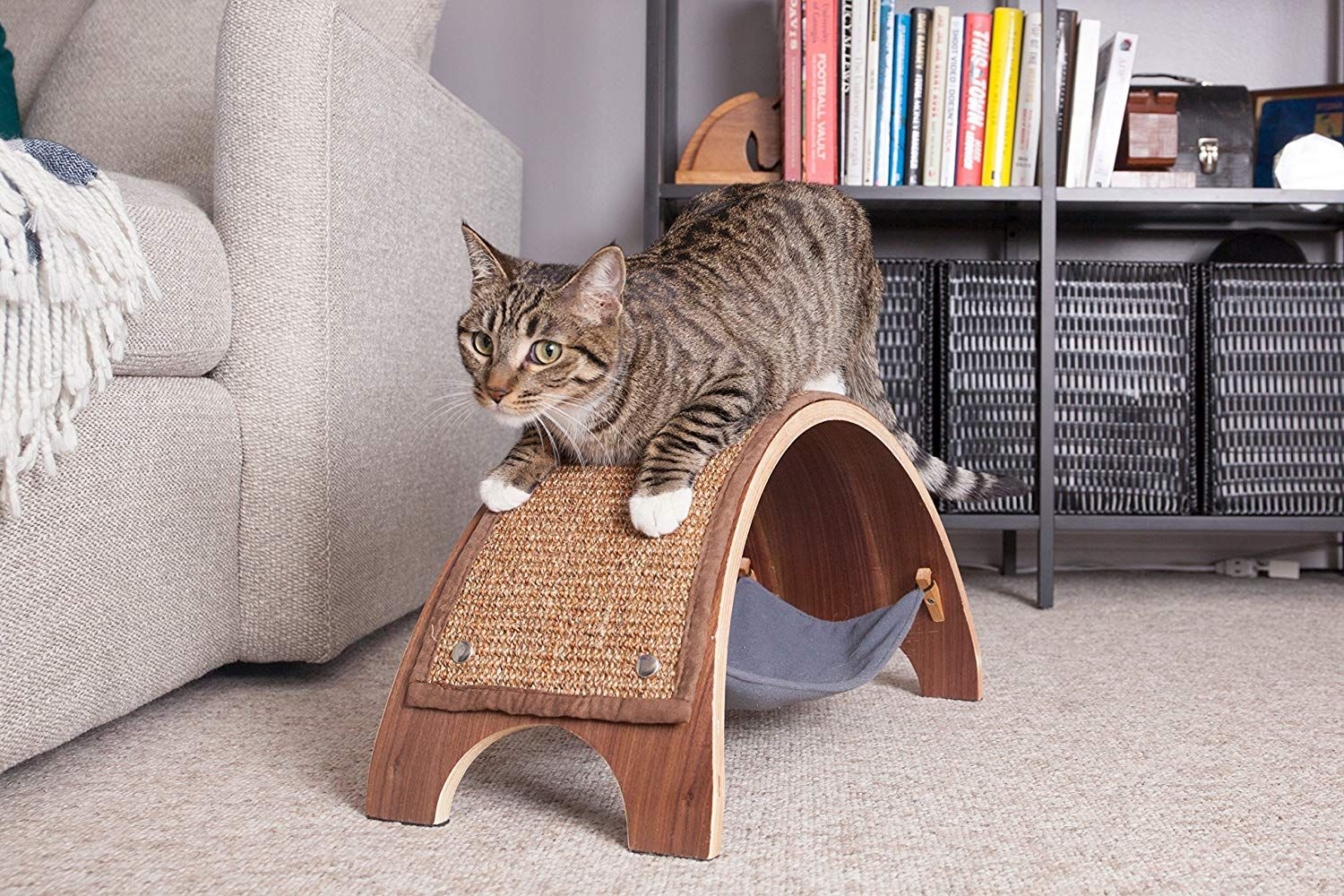 The QuickSnap Replaceable Cat Scratcher (Individual