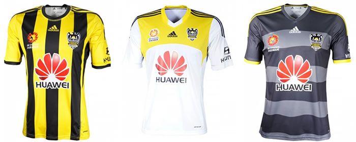 Wellington Phoenix 2014-15 adidas Home 107c2473c