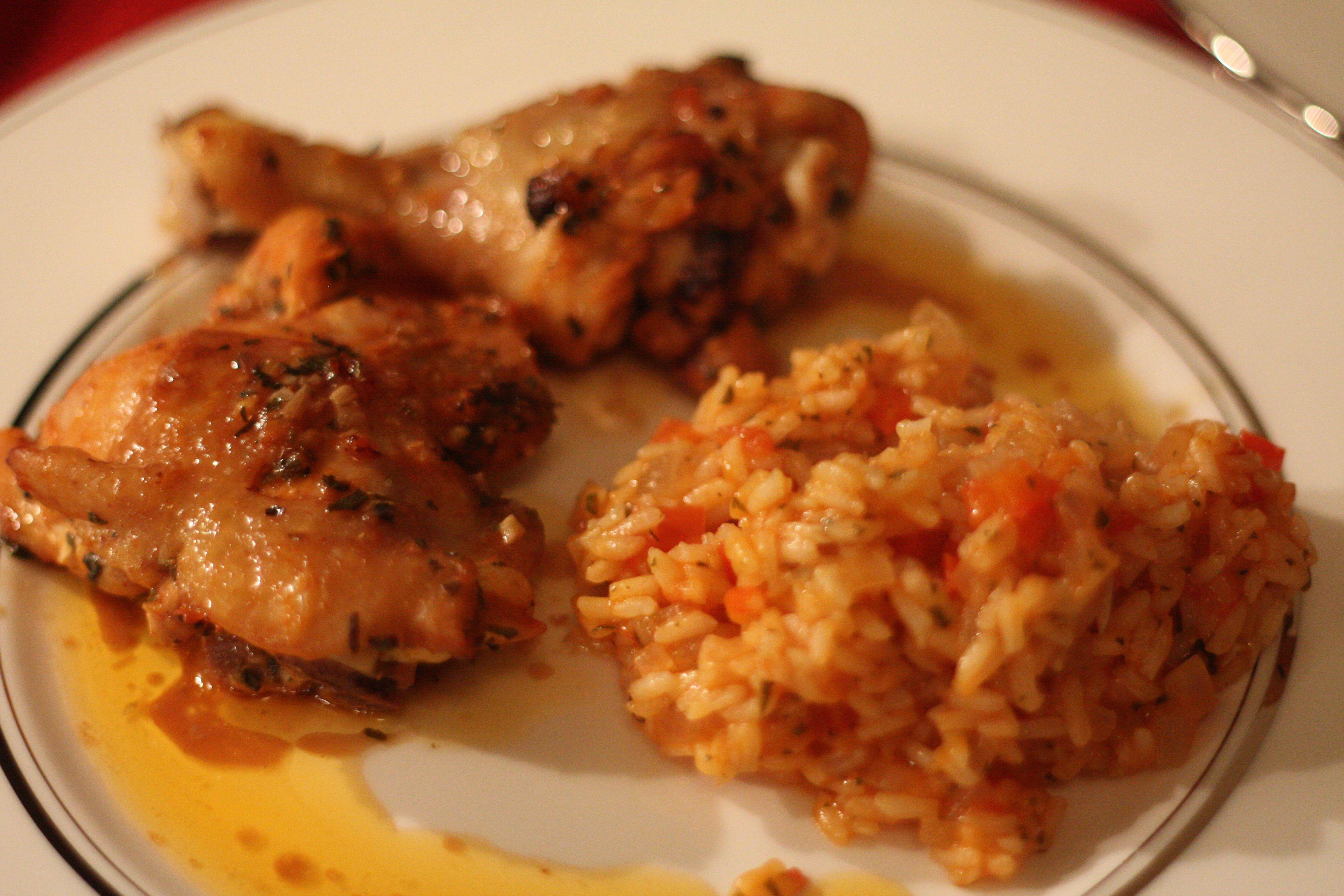 Portugese tomato rice