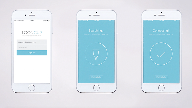 5 | A Smart Menstrual Cup That Tracks Your Period And Makes Sure You're Healthy | Co.Design | business + design