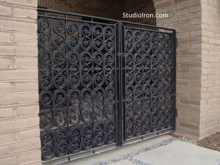 Ornate Drive Gate