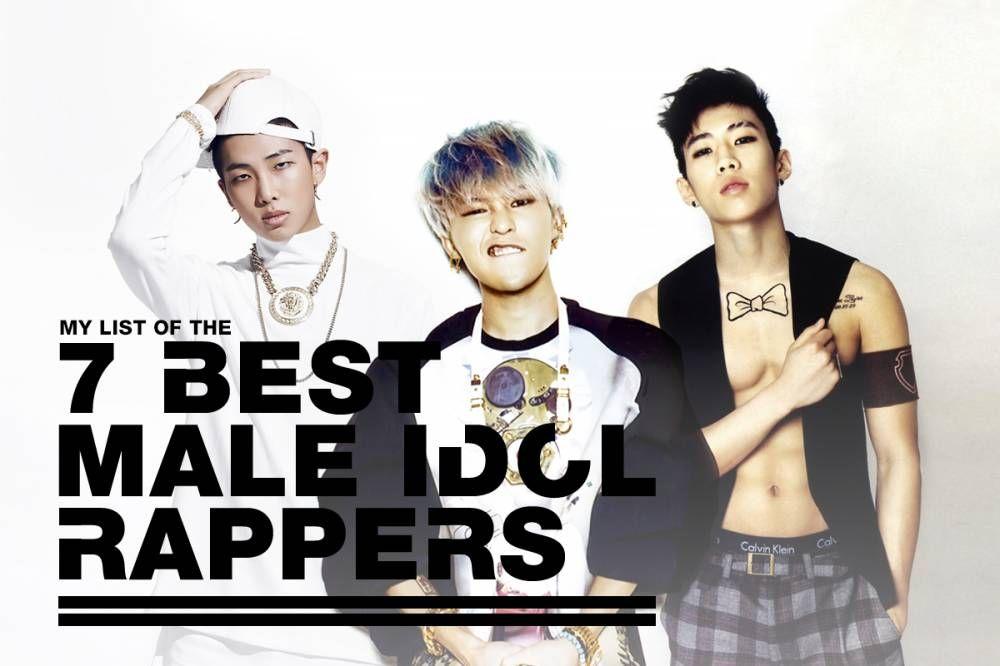 7 Best Male Idol Rappers Rappers Korean Music Male