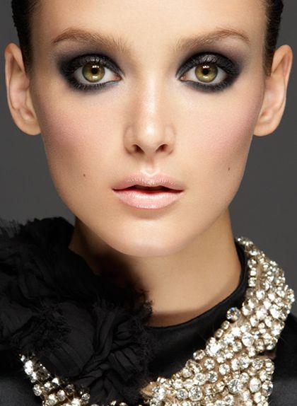 Gabor Jurina Photography, Smokey Eyes and Nude Lips
