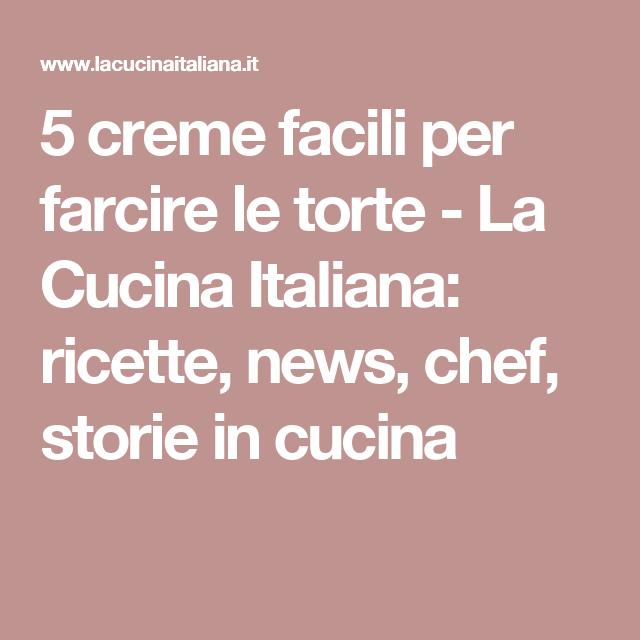La cucina italiana ricette torte
