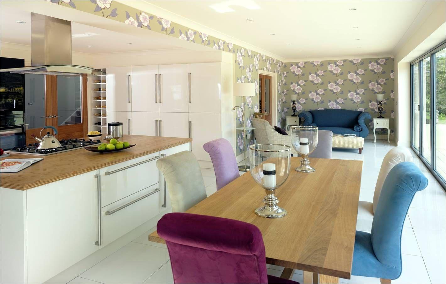 cottage conversion interior - open plan kitchen/dining room. www