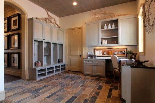 Gentil Home Office Mud Room Design | Mudroom/Office Combo