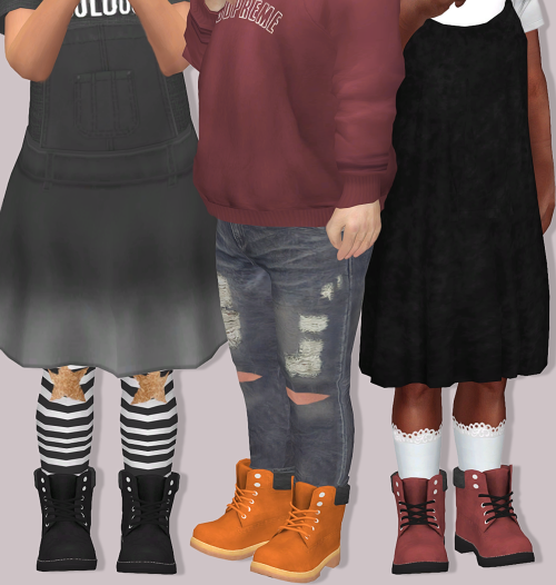 Sims 4 Cc S The Best Pixicat Timberland Boots For