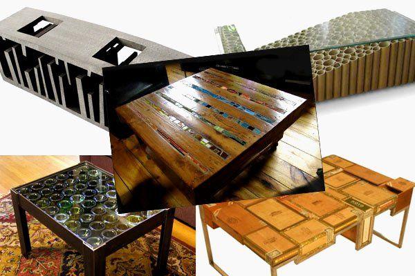 Ideas para hacer muebles caseros con materiales reciclados ...
