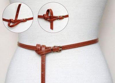 San Francisco 68f96 c7925 Cinturones delgados para acentuar la cintura | VESTIDOS en ...