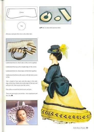Dolls House Projetcs vol1 issue 2 - Kate Maksimenko - Picasa Web Albums