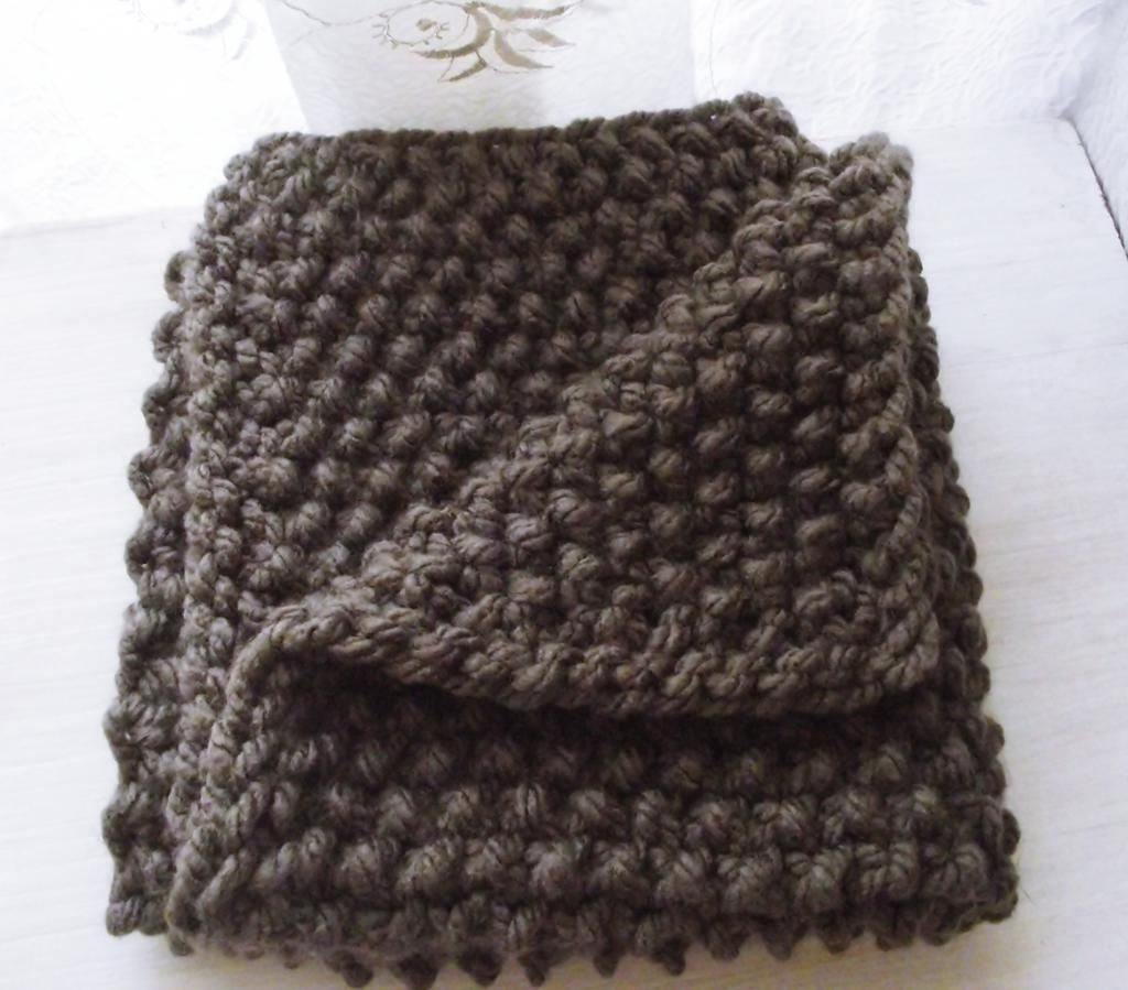 (6) Name 'Knitting Chunky baby blanket great for