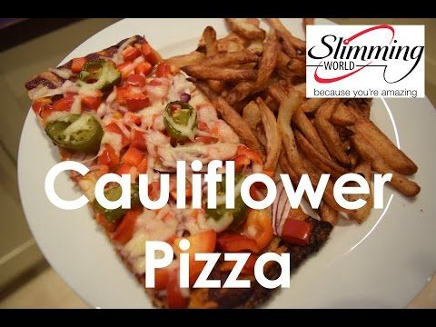 Slimming World Cauliflower Pizza Extra Easy Extra Easy