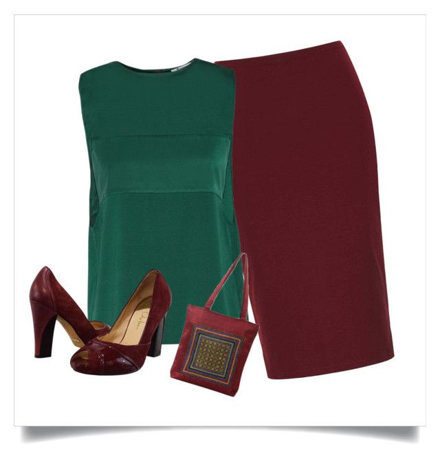 Complementary Harmonies by chinha on #polyvore   Wearing contrasting colours in an outfit is easy if you balance the saturation of the hues you choose, so that they don't hurt the eyes when worn together.   #fashion, #style #glamour