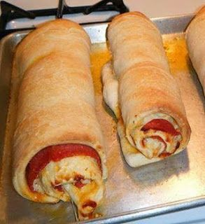 Cheesy Pepperoni Twist Rolls Recipe!best healthy recipes in the world