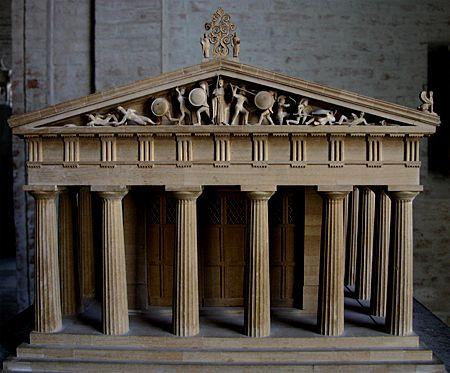 Temple Athena Aphaia Aegina