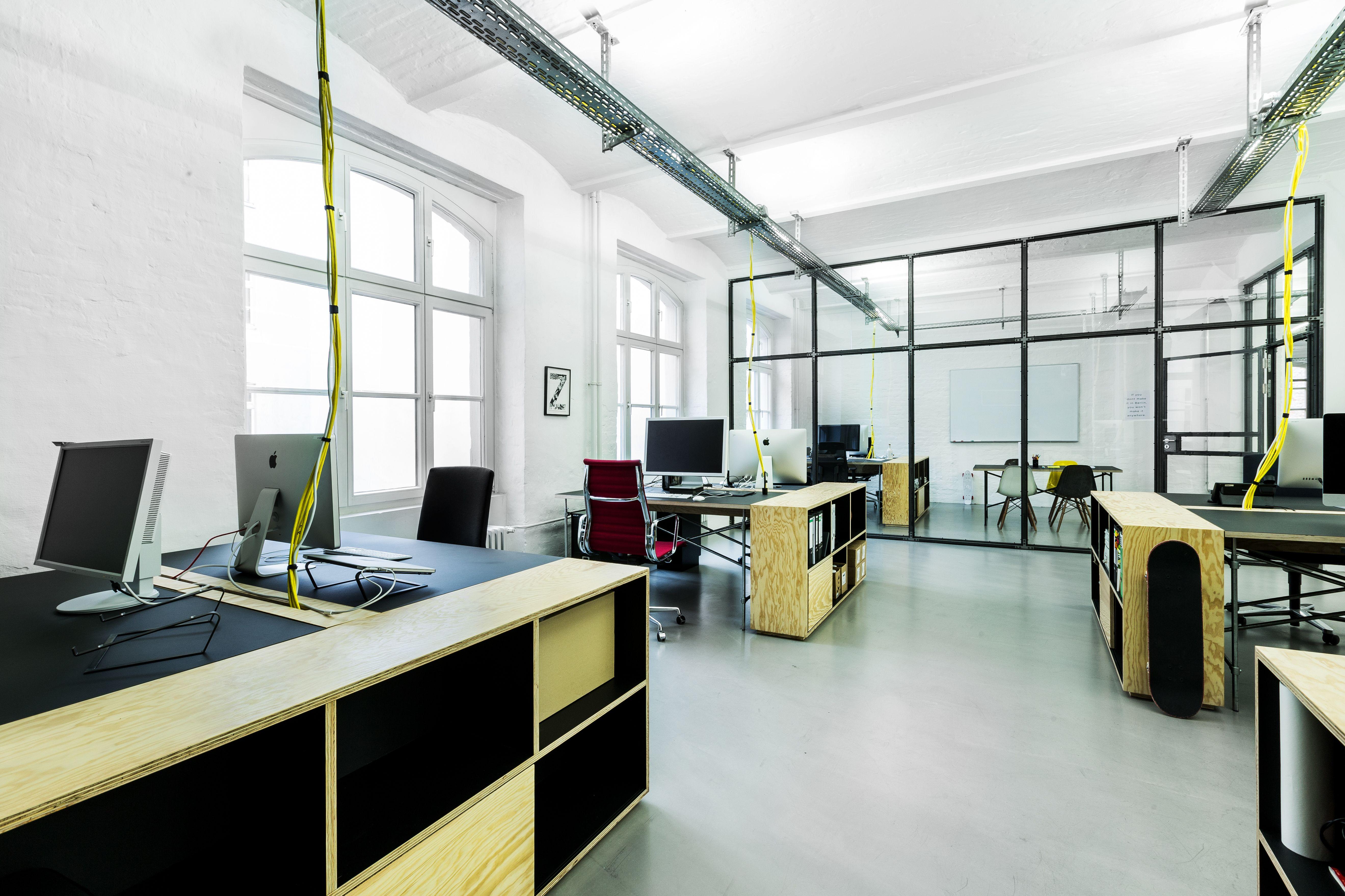 Office Interior By Zentralnorden #Office #Interior #Interiordesign # Industrial #Agency