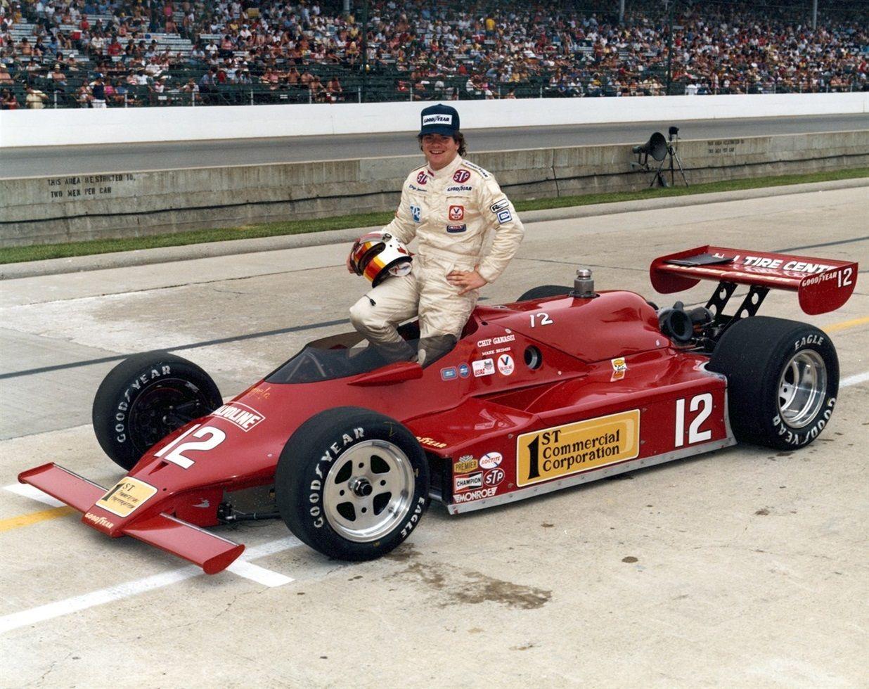 1982 chip ganassi indy car racing racing indy 500