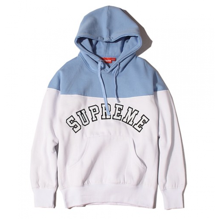 supreme logo contrast hoodies collection available at. Black Bedroom Furniture Sets. Home Design Ideas