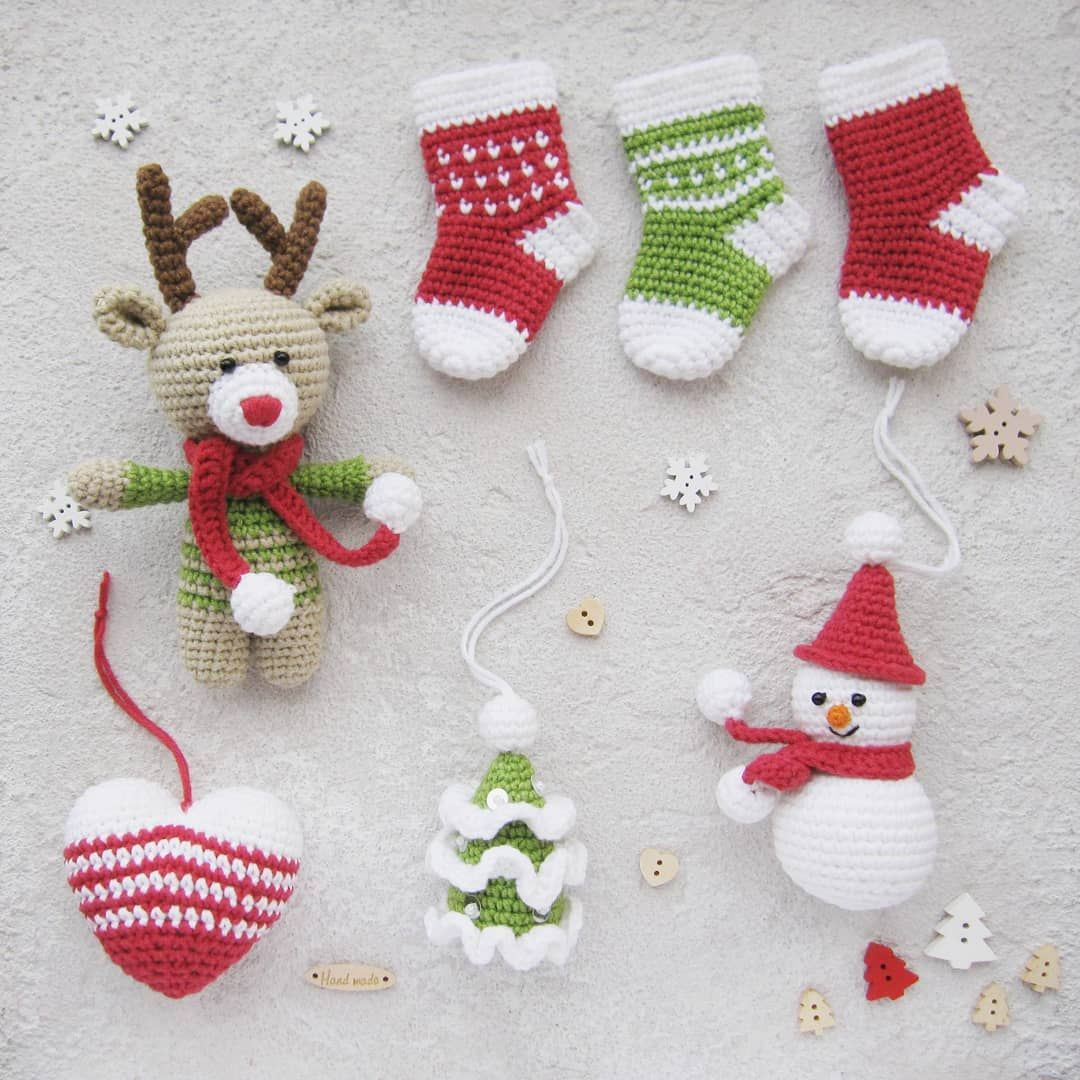 Easy And Free Christmas Crochet Patterns Ideas For New Year Celebration 2019 Page 31 Of 48 Ladiesways Com Women Hairstyles Blog In 2020 Crochet Christmas Ornaments Free Christmas Crochet Patterns Christmas Crochet Patterns Free